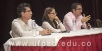Clic para ver galeria Plan de Estudios de Derecho de la UFPS Ocaña desarrolló conferencia sobre Justicia Transicional