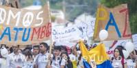 Clic para ver galeria Marcha por la paz del Catatumbo