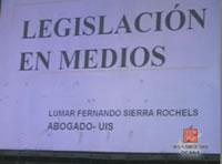 Clic para ver video Legislación de medios